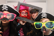 Dressing up as pirates at work event