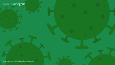 green virus background