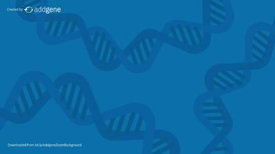 blue DNA background