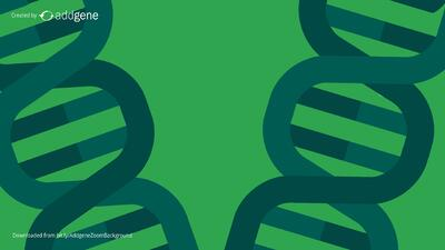 green DNA background