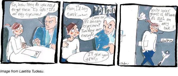 Half pint the easy experiment comic Laetitia Tudeau