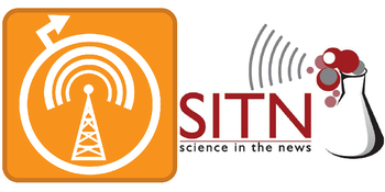 Addgene and Science in the News podcast logo