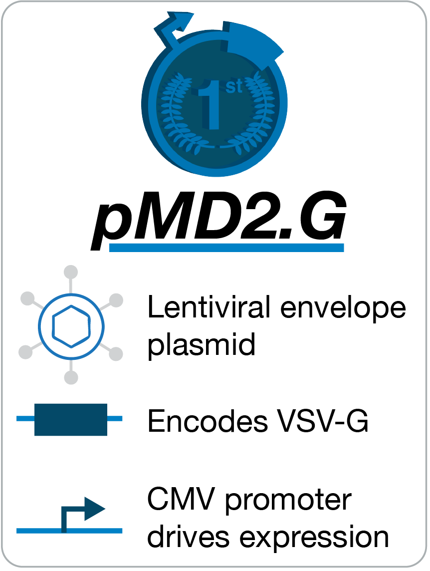 pMD2.G Lentivirus Envelope Plasmid