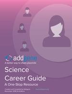 addgene science career guide cover