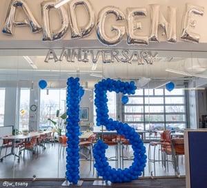 Addgene 15 year anniversary