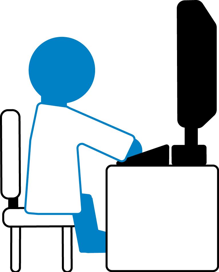 Bluegene at a computer