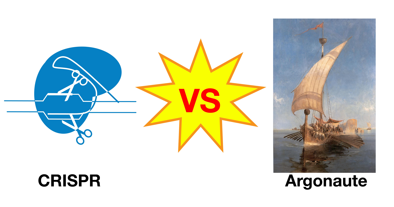 CRISPR versus Argonaute