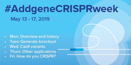 Addgene CRISPR Week