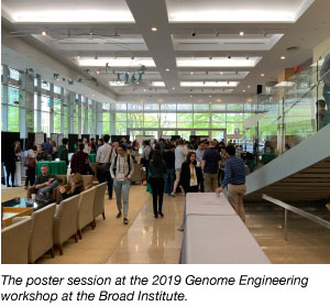 Broad Genome Engineering 2019 scientific poster session