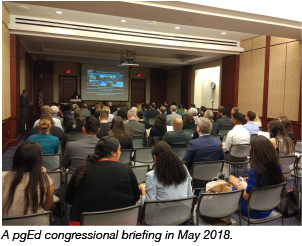 pgEd Congressional Briefing