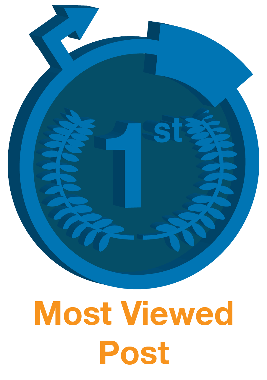 Most Viewed Post Badge