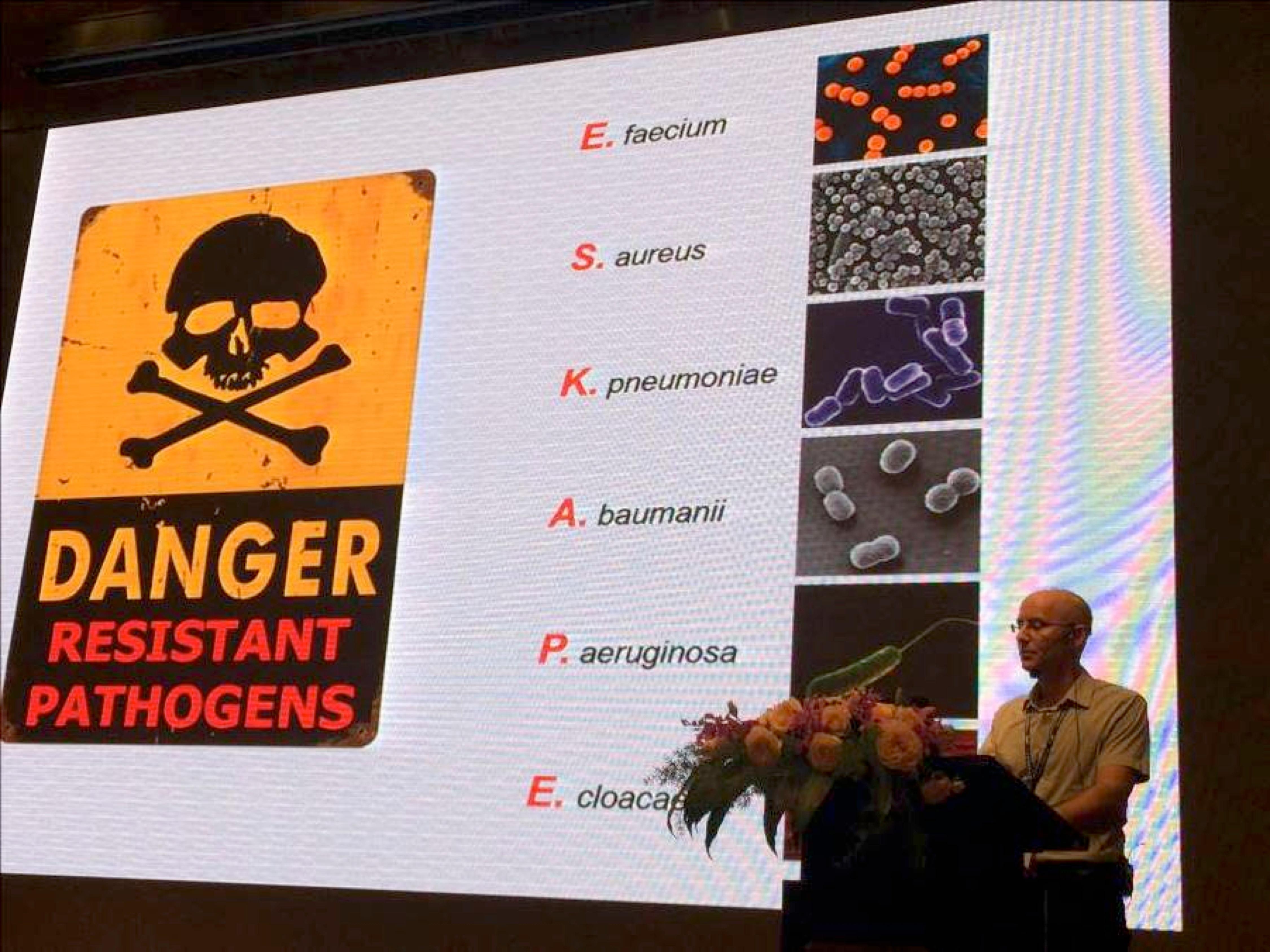 Udi Qimron and his list of antibiotic resistant pathogens